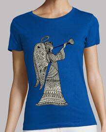 Angel con trompeta Mandala