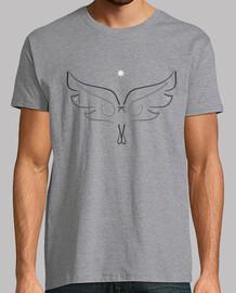 Angel, cuello base gris