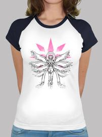 ángel de la pintada camiseta de béisbol luz