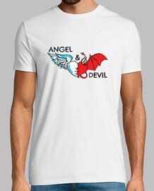 ángel y diablo