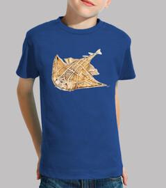 angelfish, enfant chemise de requin ange
