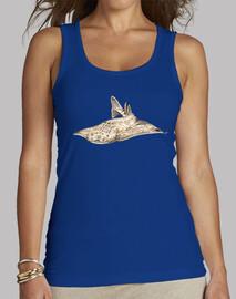 Angelote, tiburón angel camiseta