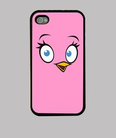 angry oiseaux - oiseau rose
