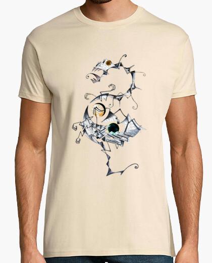 Tee-shirt animal avec gradients  homme