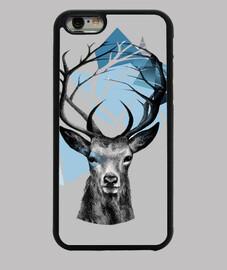 animal branches deer mountain