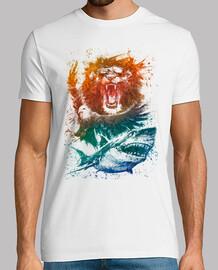 Animal Splash camiseta