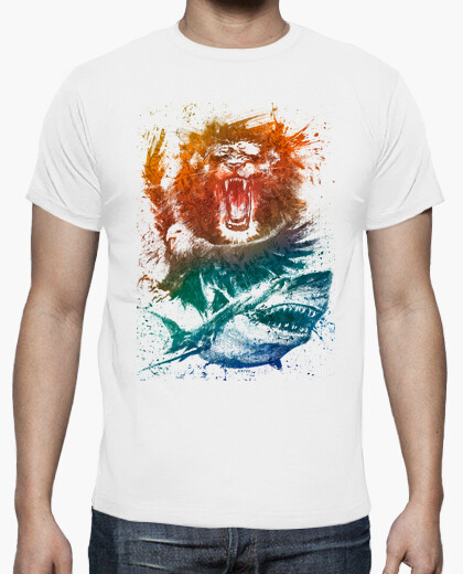 Animal splash tee t-shirt