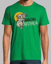 animal t shirt koala retro australia vintage animals