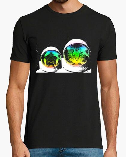 Camiseta animales espaciales