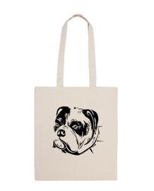 animali domestici del bulldog inglese della borsa del cane