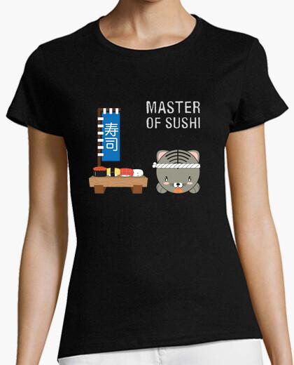 Tee-shirt animaru maître de sushi