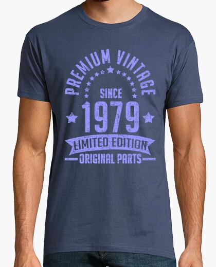 T-shirt annata premium dal 1979 parte originale