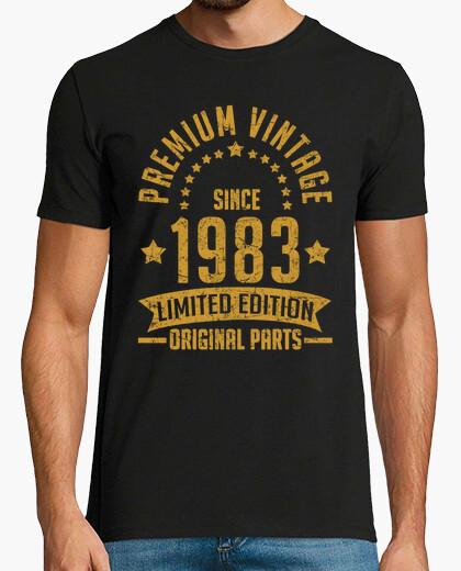 T-shirt annata premium dal 1983 parte originale