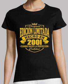 année de naissance 2001