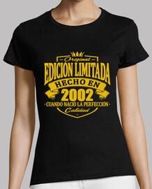 année de naissance 2002