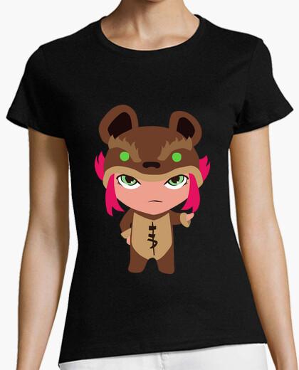 T-shirt annie ragazza invertito
