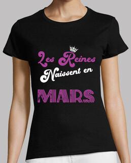 Anniversaire Femme Mars