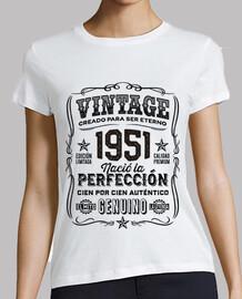 Año 1951 Regalo 68 Cumpleaños Leyenda