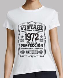 Año 1972 Regalo 47 Cumpleaños Leyenda