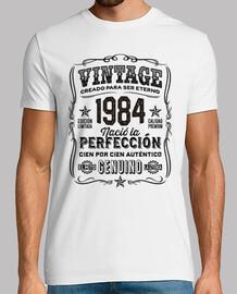 Año 1984 Regalo 35 Cumpleaños Leyenda