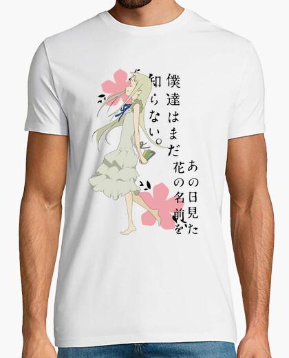 T-shirt anohana - meiko honma