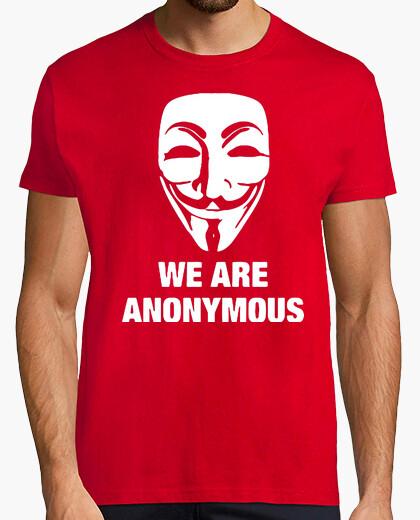 Camiseta Anonymous  friki geek