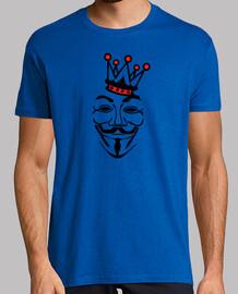 Anonymous roi couronne