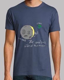 ansiosos lado de la luna