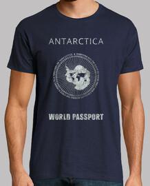 antartica world passaporto