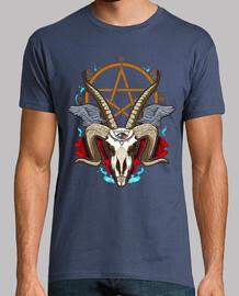 anti Cristo Goathead pentagramma