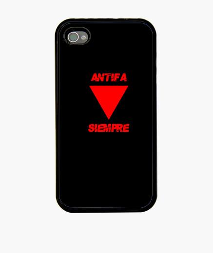 Funda iPhone Antifa Siempre - Rojo