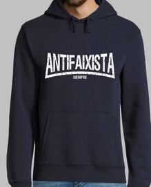 Antifaixista Siempre Sudadera chico