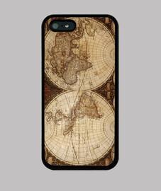 antigüo carte du monde