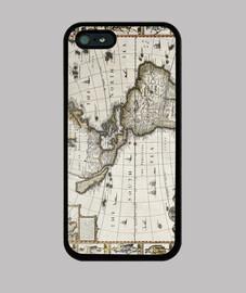 Antigüo mapa de América 1627