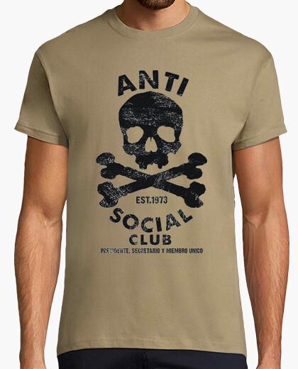 Camiseta antisocial club 1973
