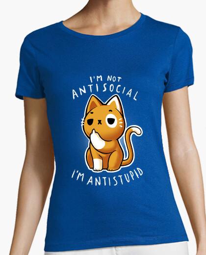 T-shirt antisociale w