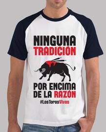 Antitaurino - Los Toros Vivos, Hombre (Fondo Claro)