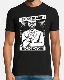 Apéro recrute. Engagez vous.