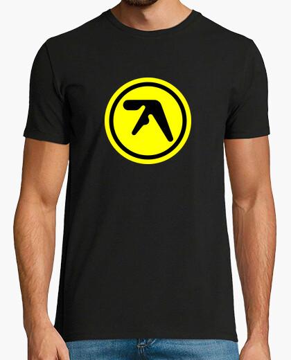 Camiseta Aphex Twin Logo Amarillo