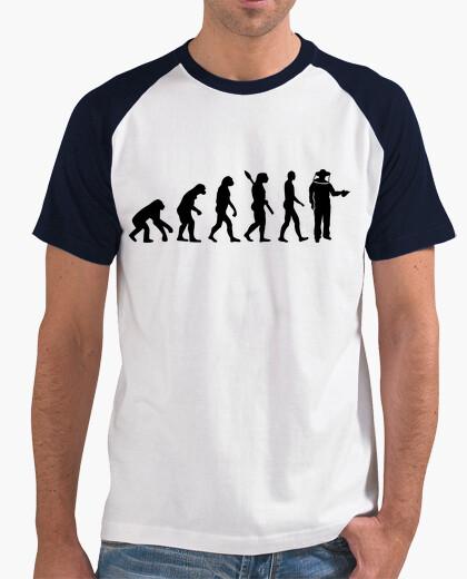 Camiseta apicultor evolución