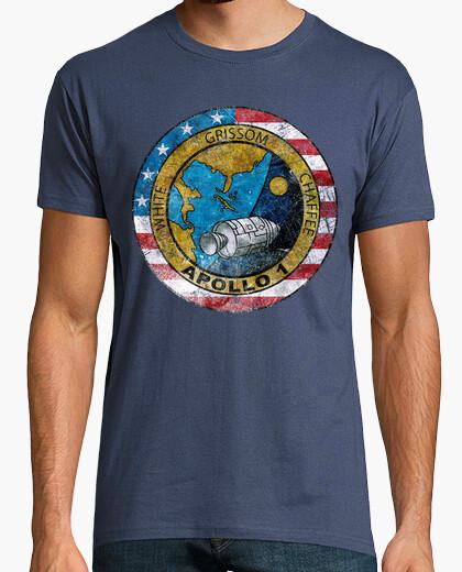 Camiseta Apollo 1 Vintage Emblem