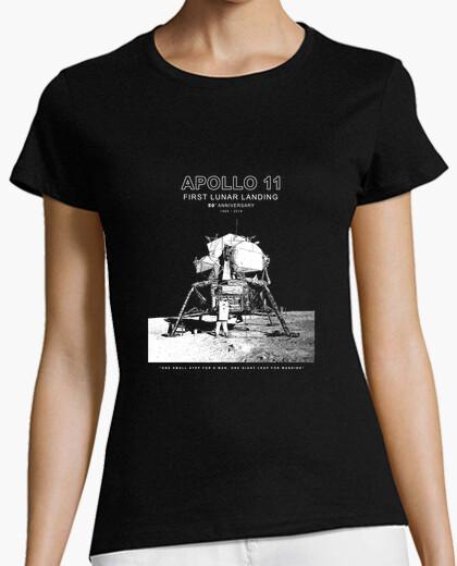 Camiseta apolo 11 - 50 ° aniversario 1969-2019 -