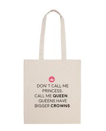 appelez-moi la reine