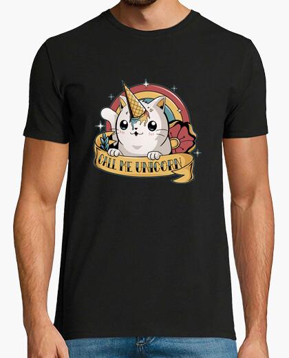 Tee-shirt appelle moi la licorne