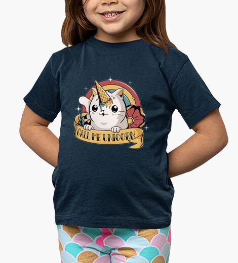 Vêtements enfant appelle moi la licorne