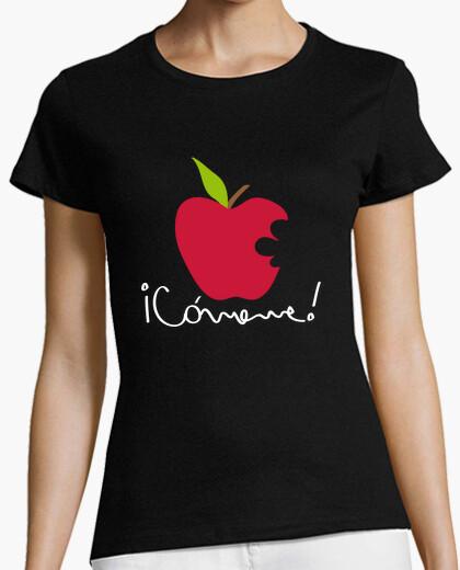 Tee-shirt apple comeme