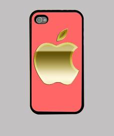 Apple Gold Funda