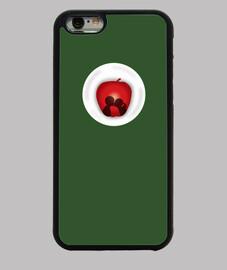 Apple Kiss Funda iPhone 6, verde
