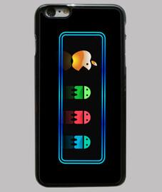 Apple Pac-man Funda iPhone 6 Plus, negra