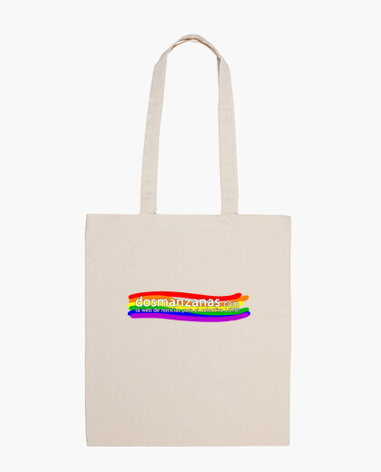 Apples in 100% cotton canvas bag